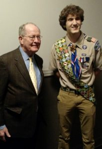 Brandon Burgess George and Helen Frye Eagle Scout Scholarship