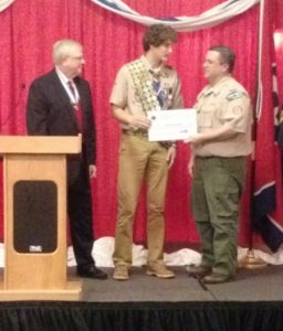 Brandon Burgess Larry Fleming Memorial Eagle Scout Scholarship