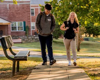 Students on Campus-19